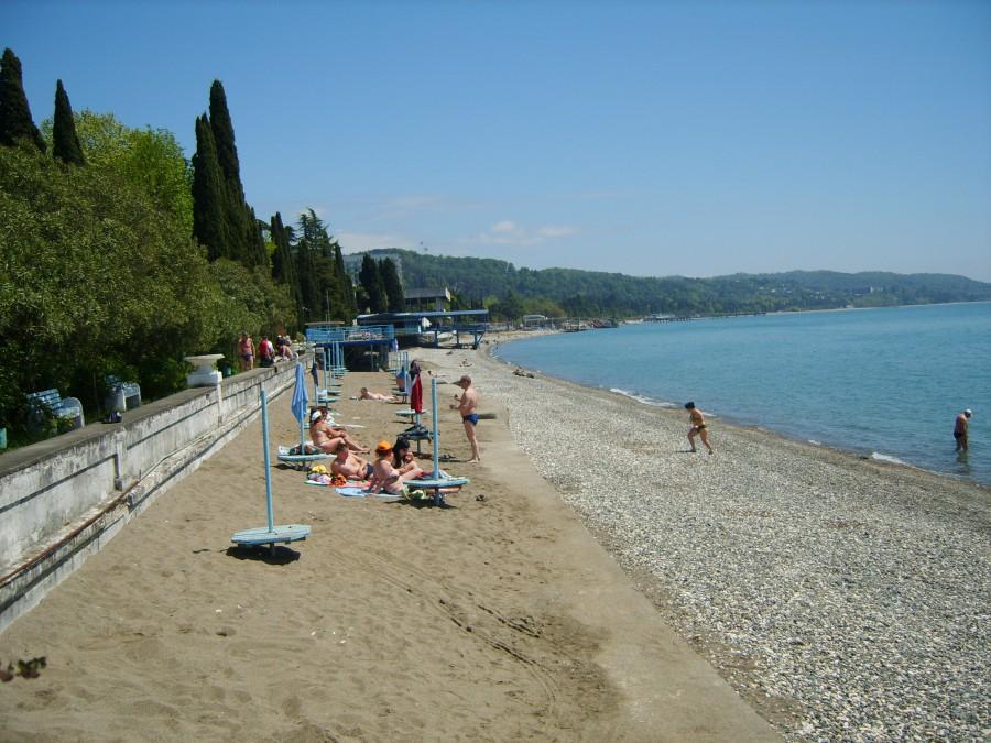 Сухум пляж фото