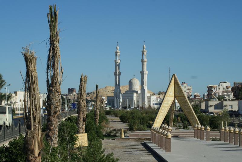 фото город хургада