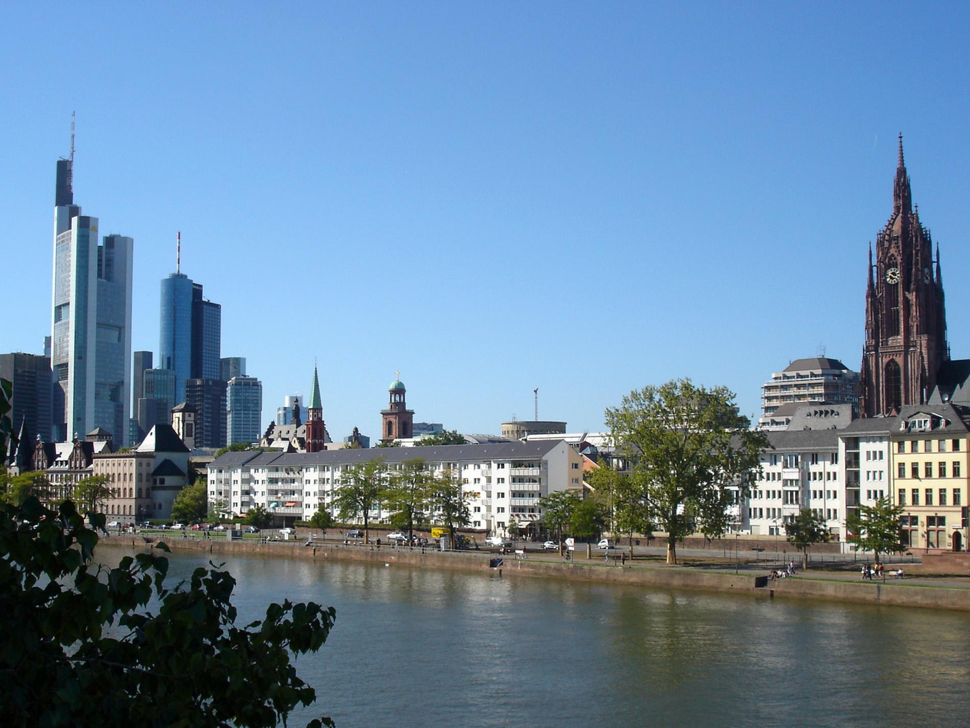 франкфурт на майне фото туристов обычной