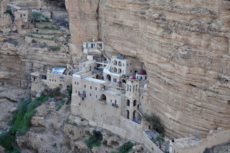 Израиль монастырь георгия хозевита