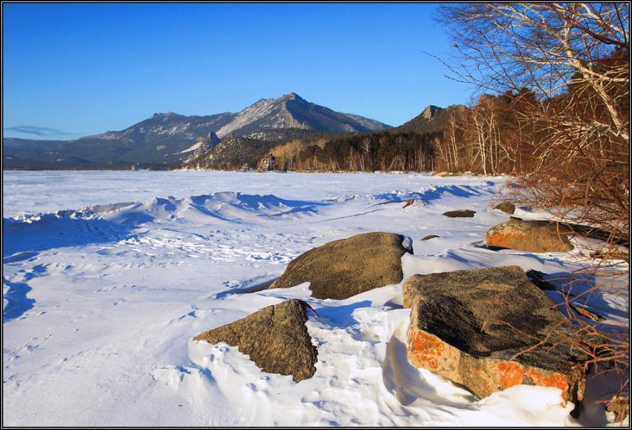 Фото боровое зима