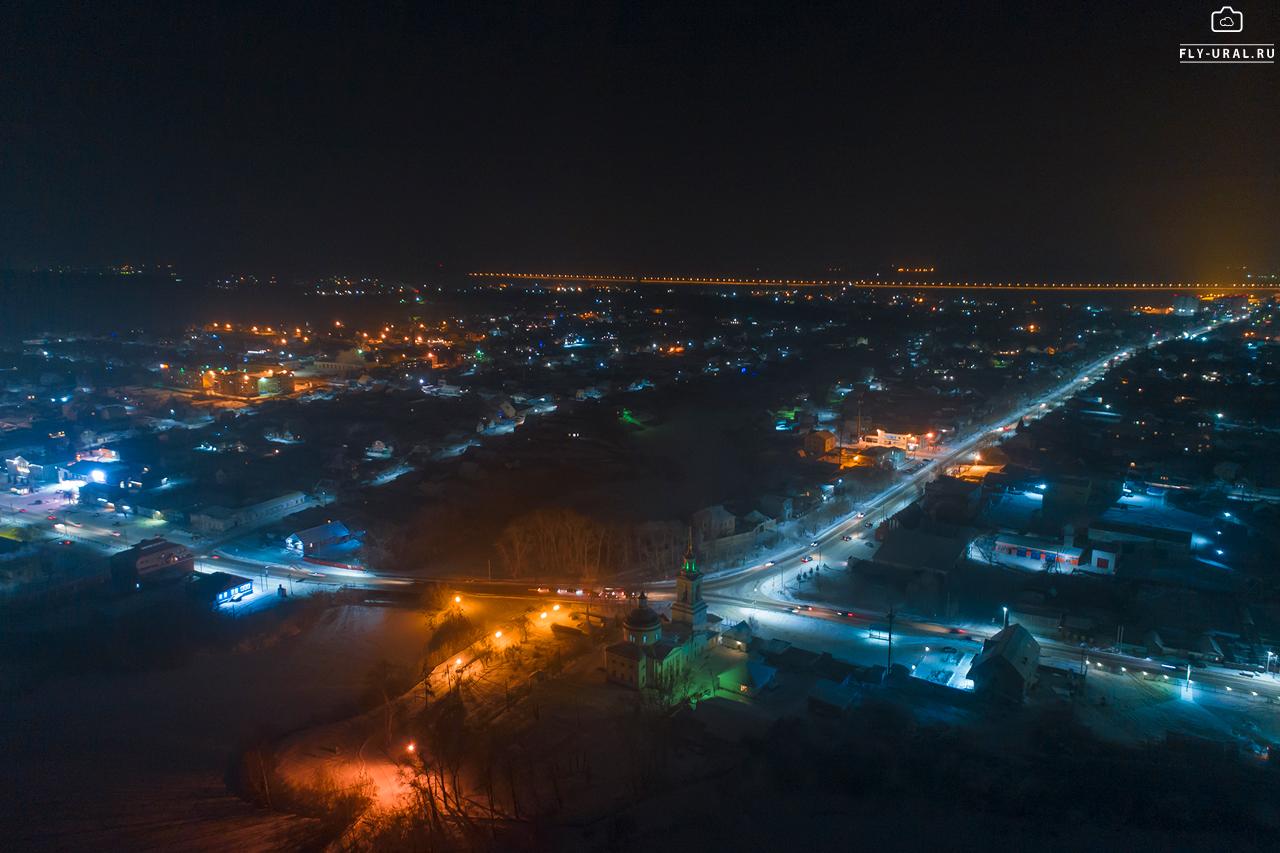 фото смоленска ночью с высоты