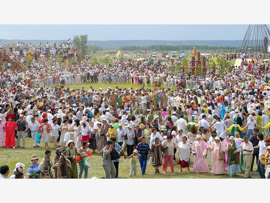 Якутск в дни национального праздника Ысыах 2009-2010