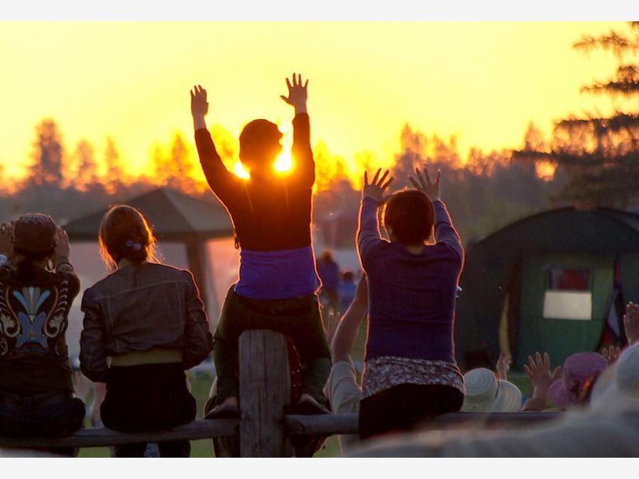 Якутск в дни национального праздника Ысыах 2009-