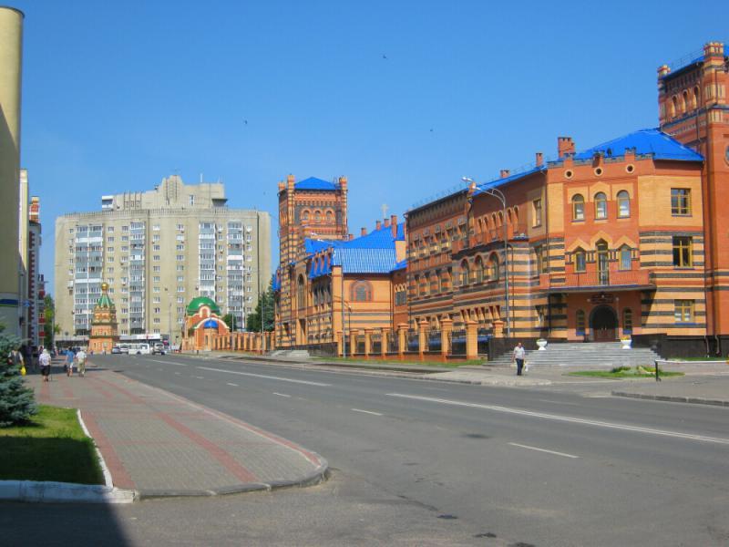 Фото домов и улиц йошкар олы