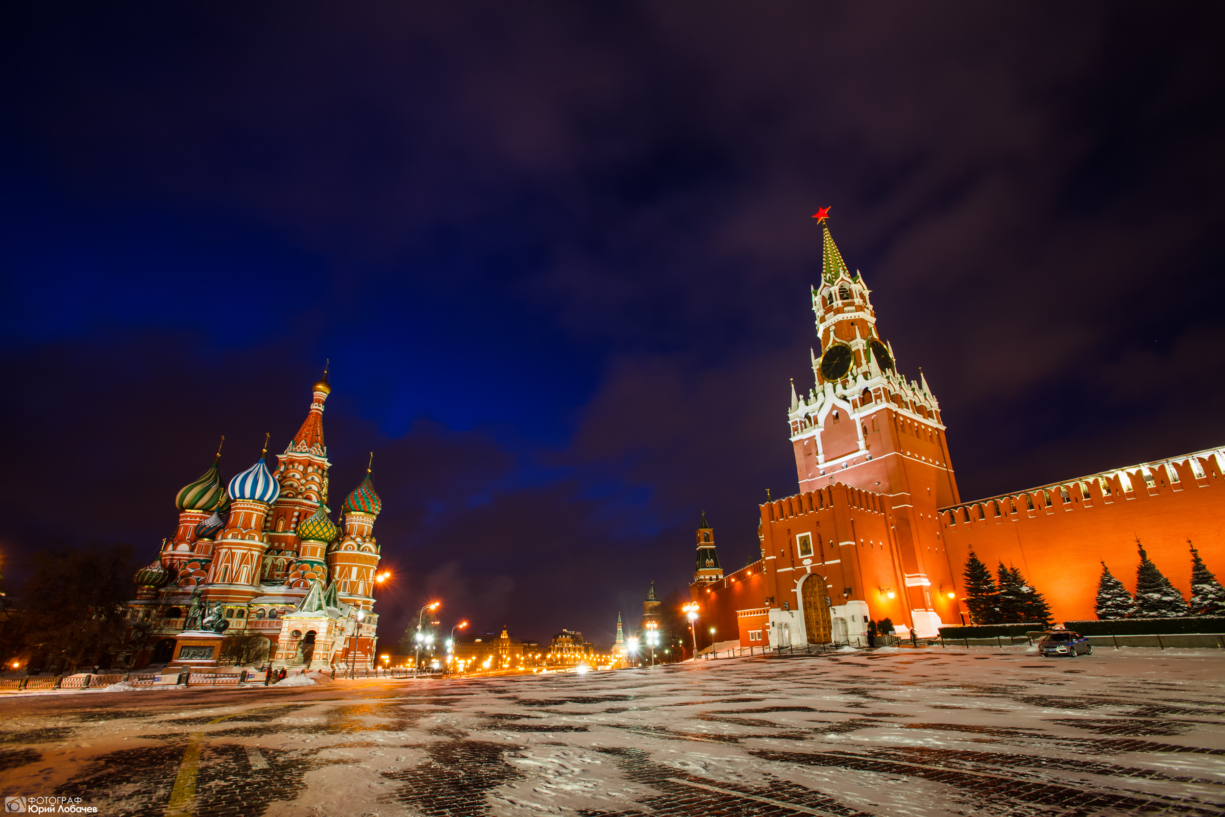 фото московского кремля и красной площади спальни подойдут