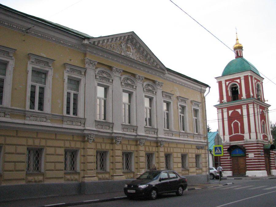 Гончарная улица и окрестности