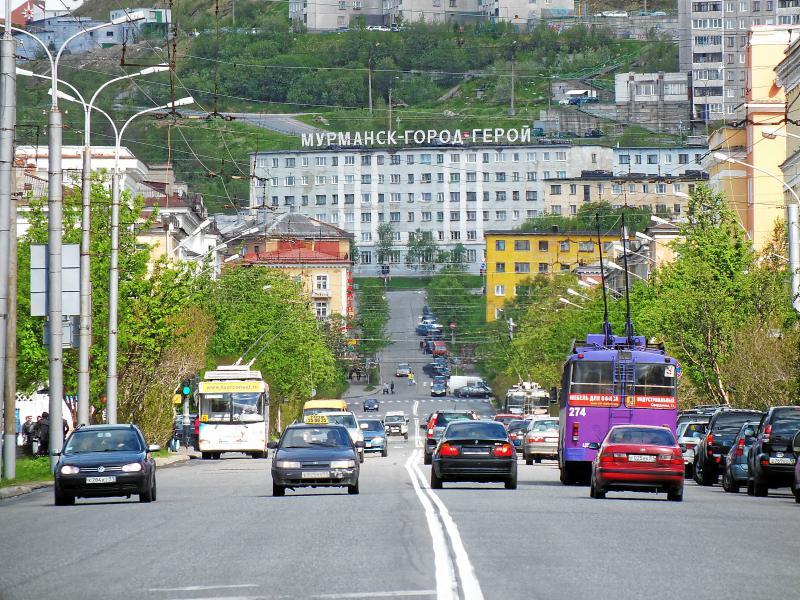 Мурманск — советский город