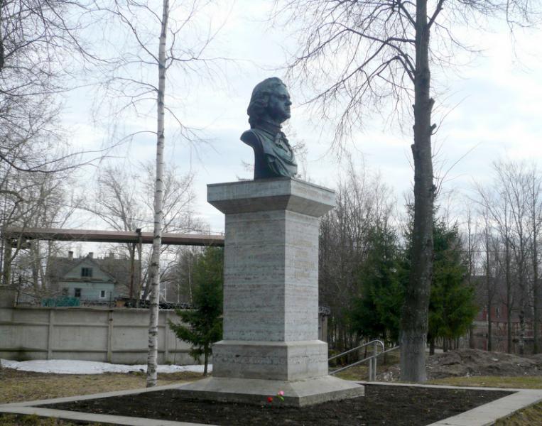 Купить памятник на кладбище Новая Ладога Эконом памятник Башня с профильной резкой Колпашево