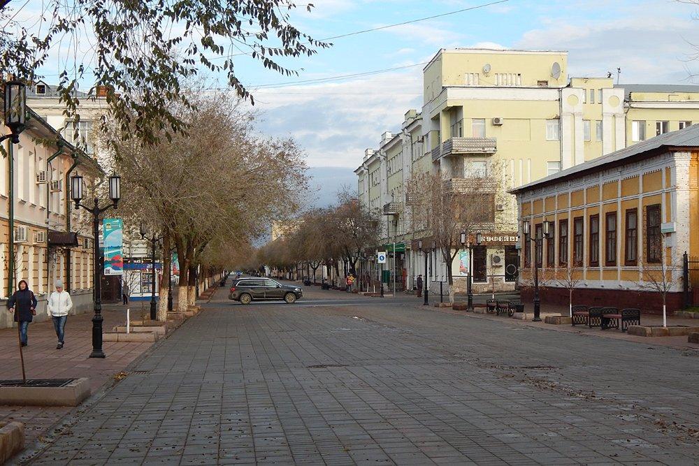 оренбургская улица картинка первая