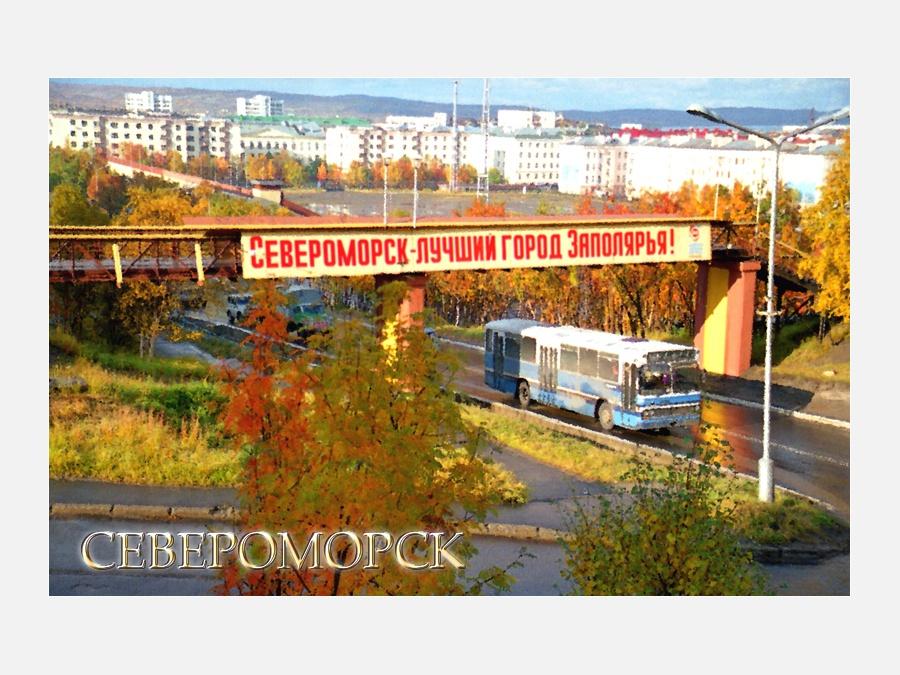 Североморск осень в картинках