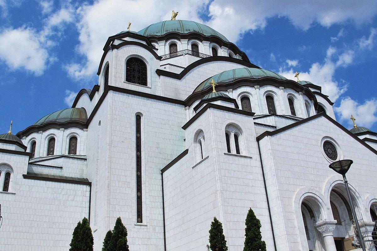 варианты фото сербской церкви в москве прямо экране