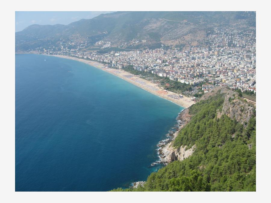 аланья турция фото пляжей и набережной женской волейбольной