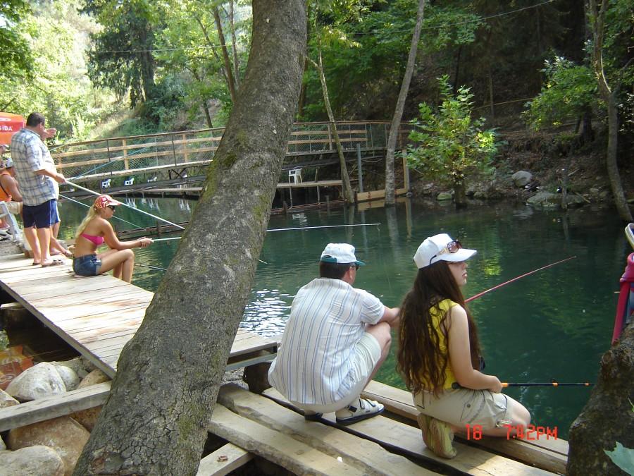 турция кемер рыбалка в горах