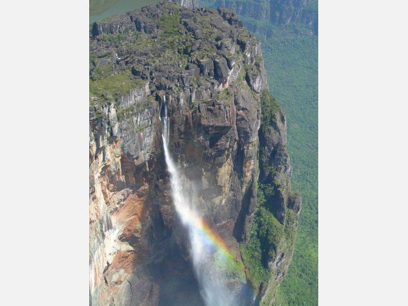 Самый высокий водопад 979м водопад