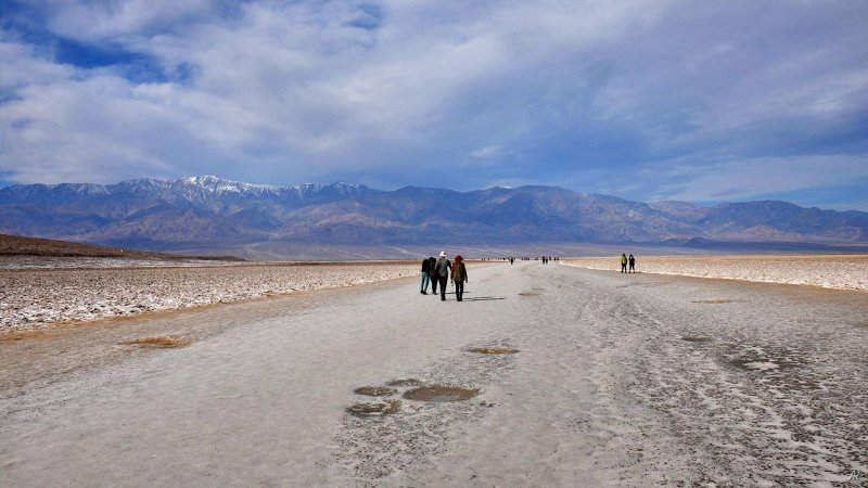 Death Valley - Badwater Basin (Долина смерти) - Фото №6