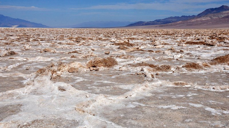 Death Valley - Badwater Basin (Долина смерти) - Фото №20