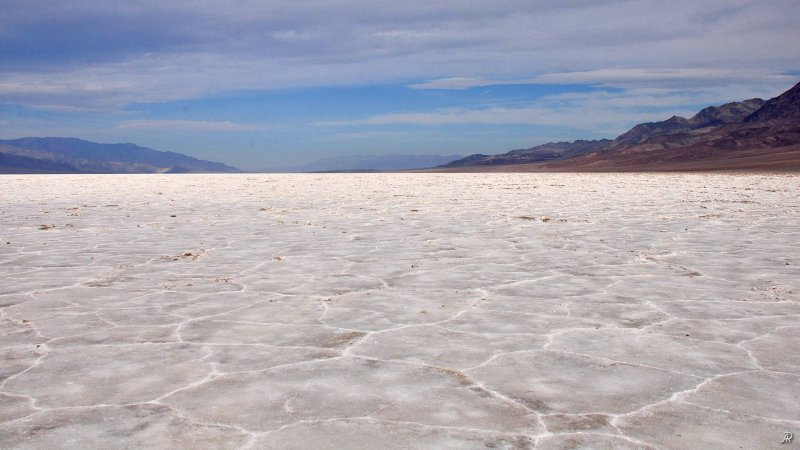 Death Valley - Badwater Basin (Долина смерти) - Фото №21